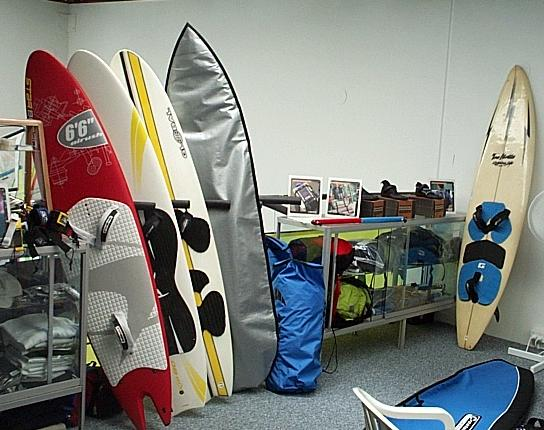 Windsurf and Kitesurf Gear Hire and Shops